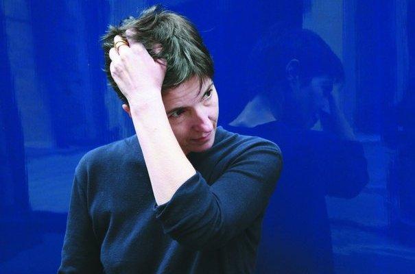 Christine Angot (c) John foley/Opale/ Flammarion