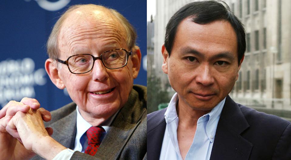 Samuel Huntington et Francis Fukuyama