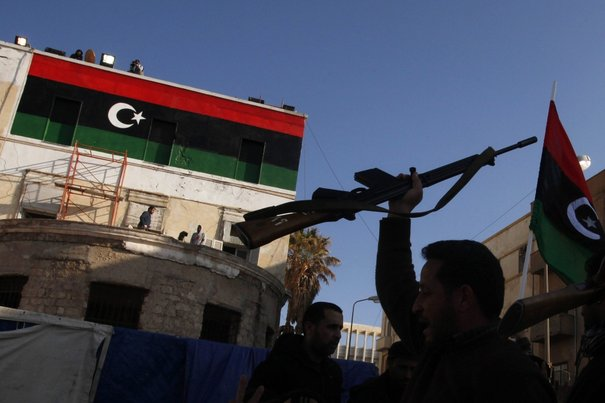 Des insurgés libyens