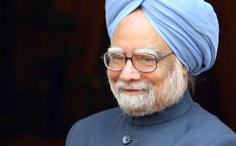 Le Premier ministre indien, Manmohan Singh