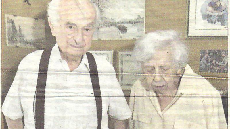 Raphaël Konopnicki, Edouard Voisin dans la Résistance, et son épouse Rose