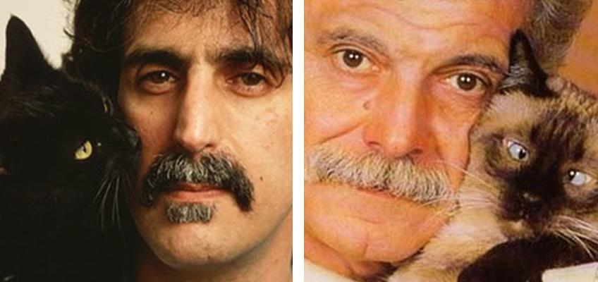 Frank Zappa 23/12/1941 - 4/12/1993 — Georges Brassens 22/10/1921 - 29/10/1981