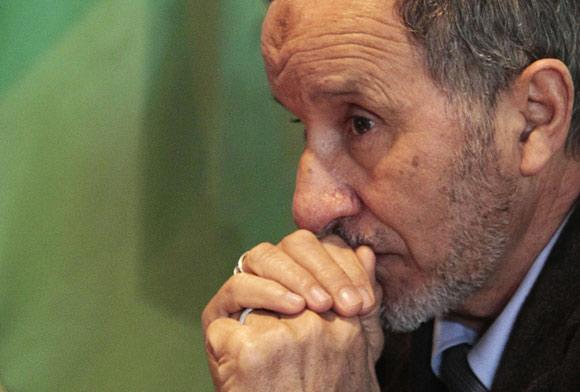 Mustafa Abdeljalil, président du CNT libyen