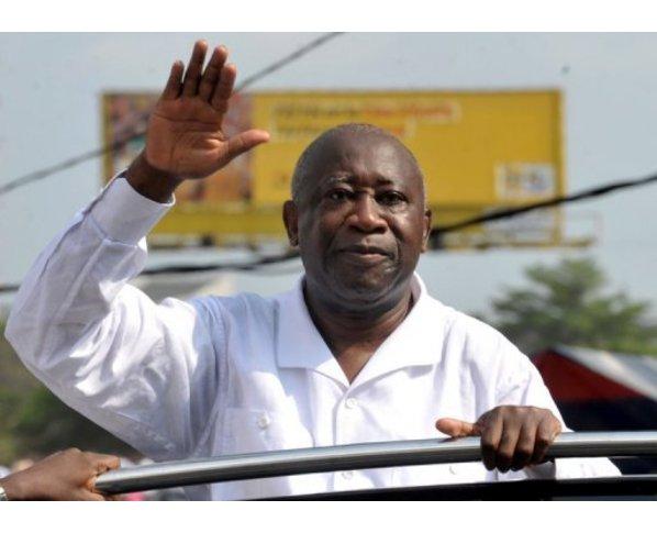 Laurent Gbagbo, président auto-proclamé de la Côte d'Ivoire