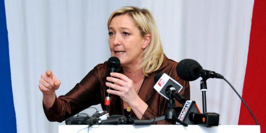 Marine Le Pen, le 5 mars 2011 à Lille