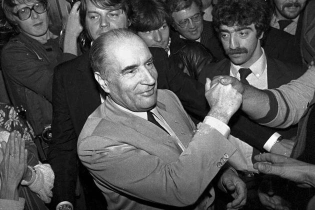 François Mitterrand, Mai 1981.
