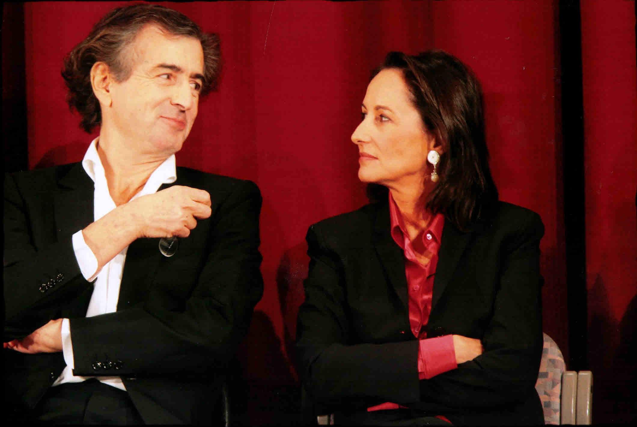 Bernard-Henri lévy et Ségolène Royal
