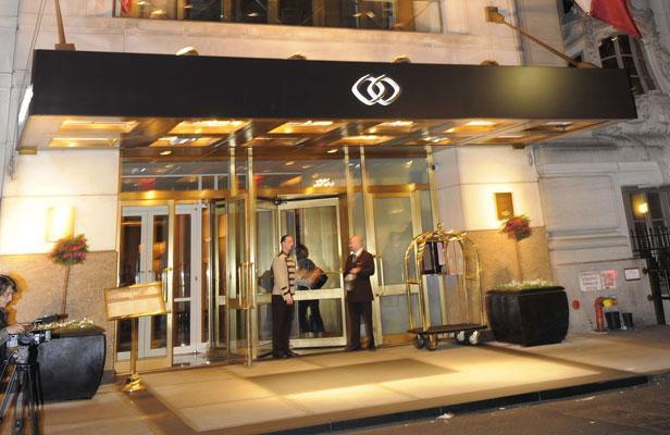 L'hôtel Sofitel de New-York, dans lequel Dominique Strauss-Kahn est accusé d'avoir agressé sexuellement une femme de chambre, le 15 mai 2011. BEHAR ANTHONY/SIPA