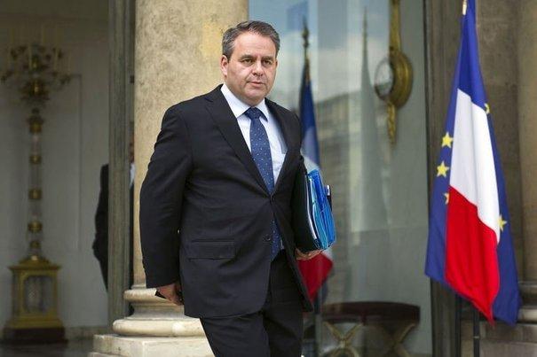 Le ministre de la santé Xavier Bertrand