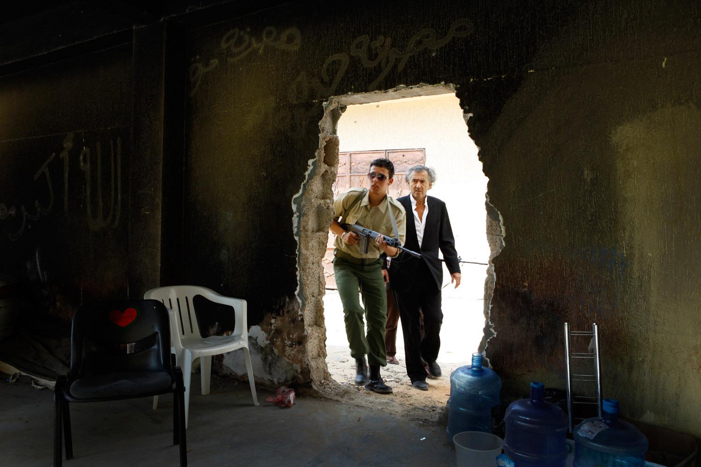 Bernard Henri Lévy à Misrata
