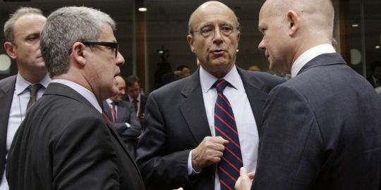 Les ministres des affaires étrangères européens tiennent ludi 18 juillet une table ronde sur le processus de paix au proche-orient