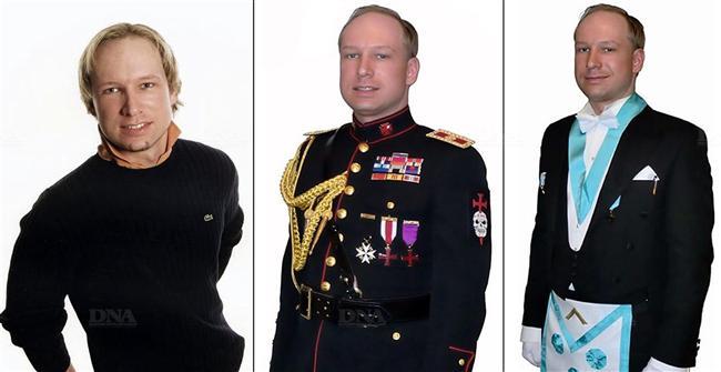 Portraits d'Anders Behring Breivik