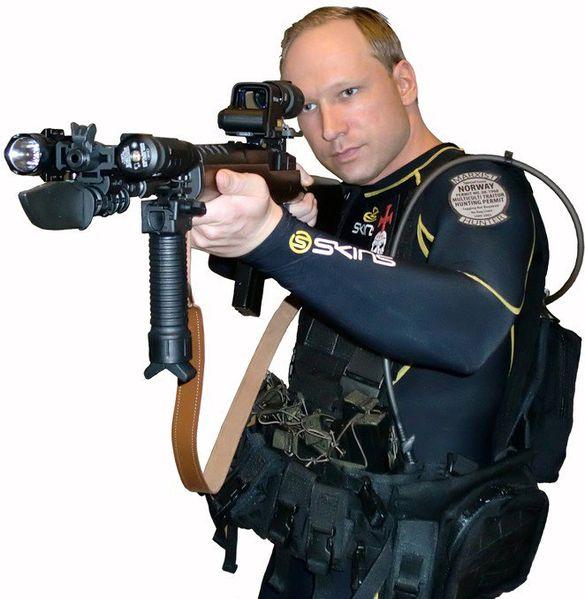 Anders Behring Breivik (auto-portrait)