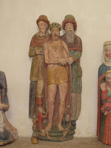 Le Christ aux outrages, chapelle St Jacques en Tréméven, Bretagne