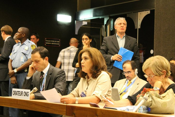 Lama Atassi au Conseil des droits de l'homme de l'ONU