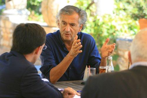 Bernard-Henri Lévy interviewé par Nice-Matin