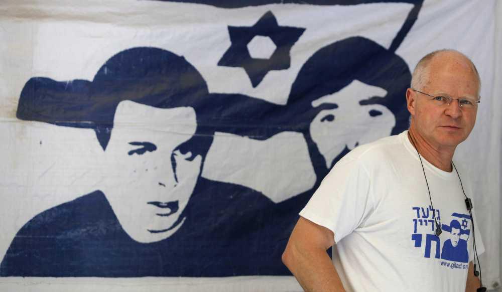 Noam Shalit, le père de l'otage franco-israëlien Gilad Shalit