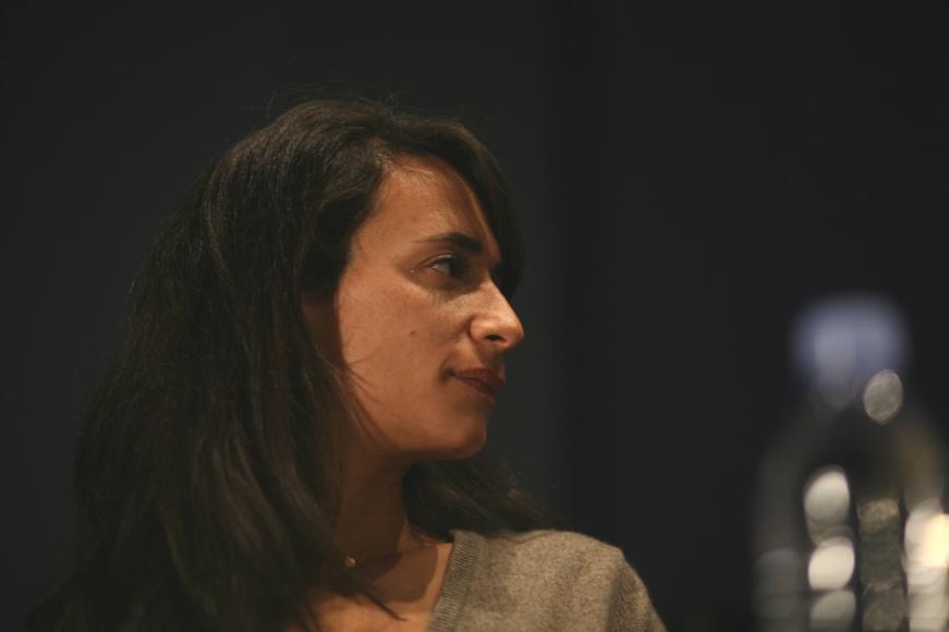 Anaëlle Lebovits-Quenehen le 23 novembre au Cinéma Saint-Germain © Vincent Bitaud