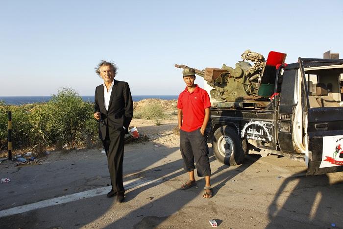 BHL in Tripoli
