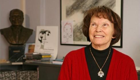 Danielle Mitterrand (c) Manuelle Toussaint