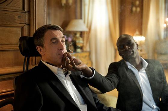François Cluzet et Omar Sy dans Intouchables
