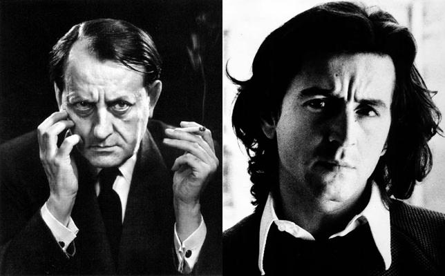 André Malraux et Bernard-Henri Lévy