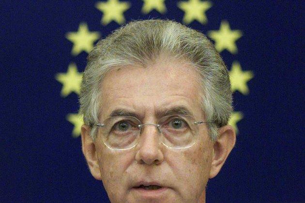 Le nouveau président du Conseil italien Mario Monti