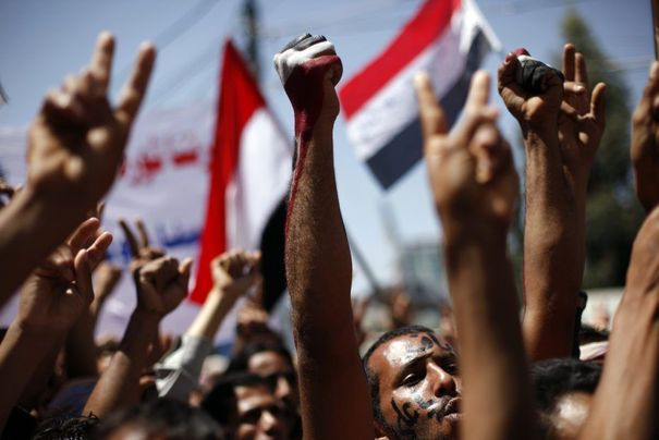 Manifestation au Yémen