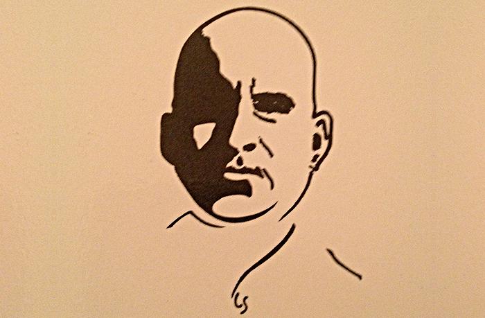 portrait de Pierre Guyotat par Léo Scheer