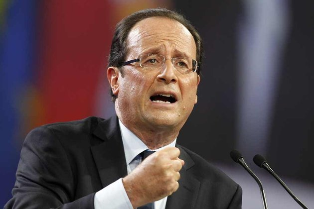 François Hollande au Bourget