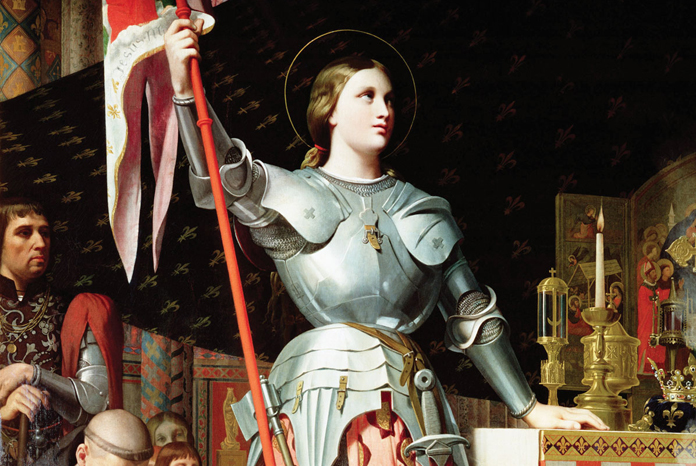 Jeanne D'Arc par Ingres