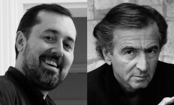 Pascal Bacqué et Bernard-Henri Lévy