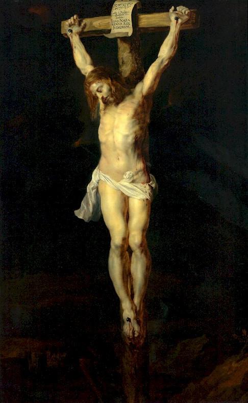 Christ sur la croix par Rubens