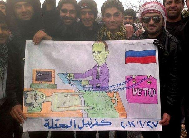 La Russie continue de faire obstacle à la résolution du conflit.