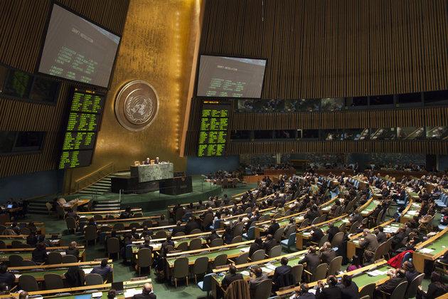 L'Onu adoptait hier une résolution condamnant la répression en Syrie