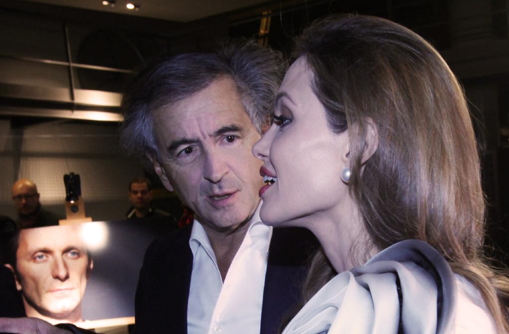 Bernard-Henri Lévy et Angelina Jolie