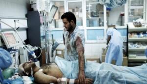 Scène banale ces derniers jours dans les hôpitaux débordés de Syrie