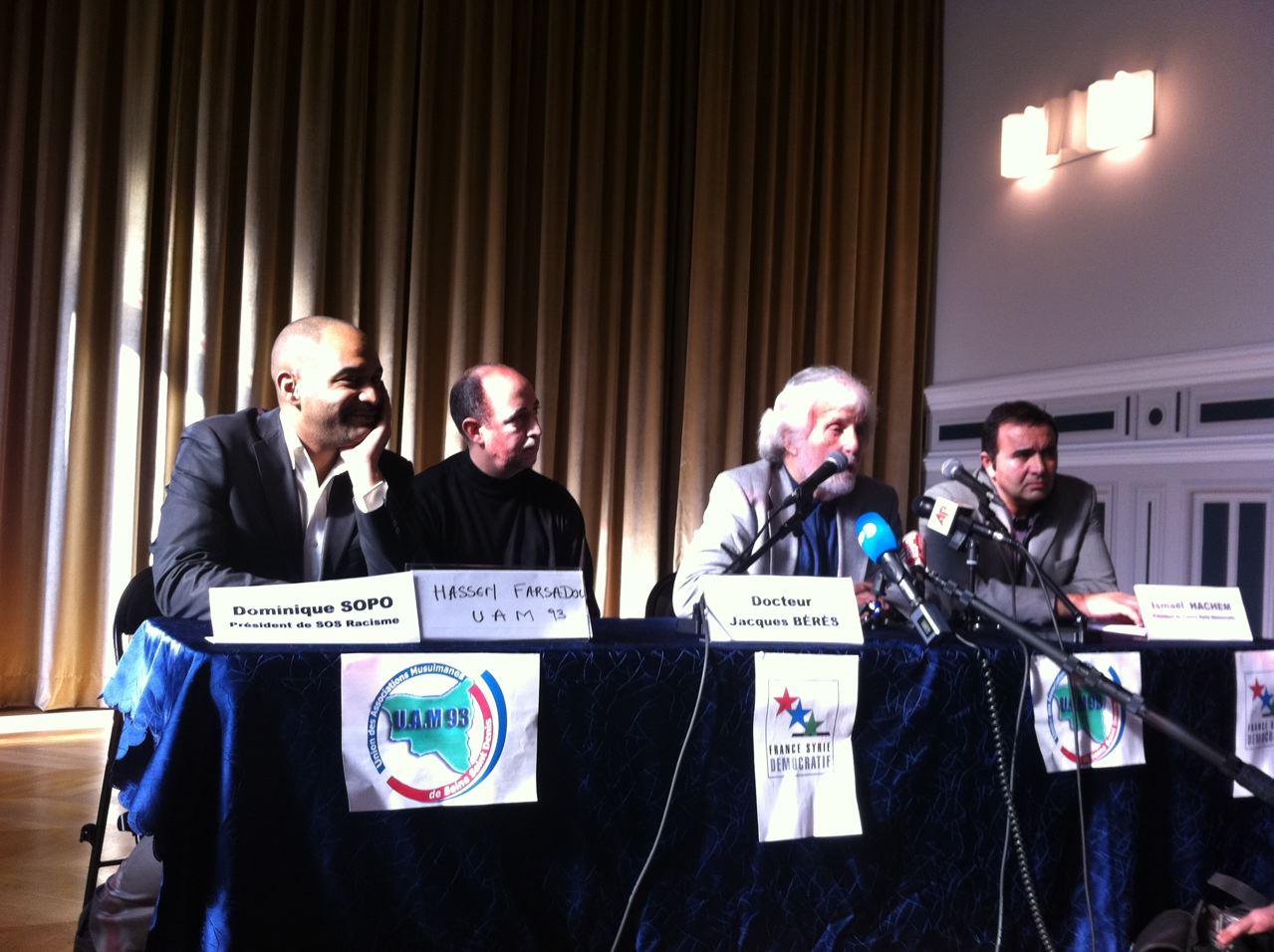 Jacques Bérès lors de la conférence du 27 février 2012