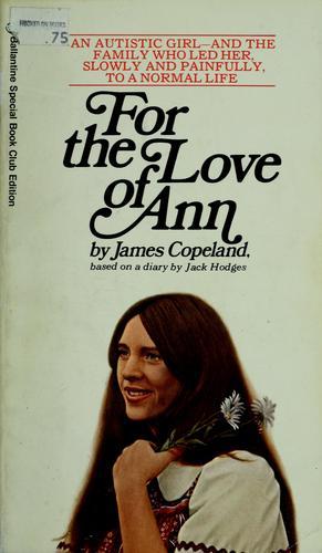 Pour l'Amour d'Anne de James Copeland