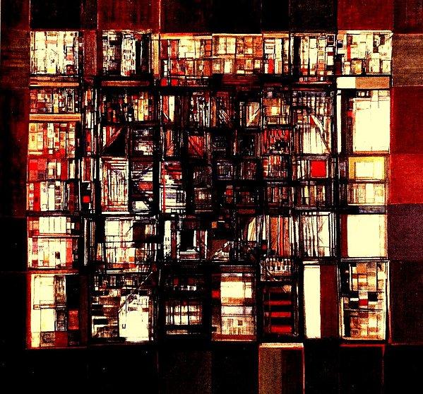 Vieira-da-Silva-La-Bibliotheque-en-feu