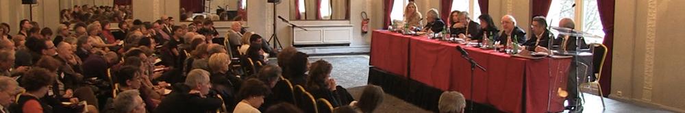 Conférence au Lutétia