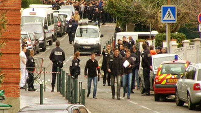 La fusillade a eu lieu ce matin devant le collège juif Ozar Hatorah de Toulouse