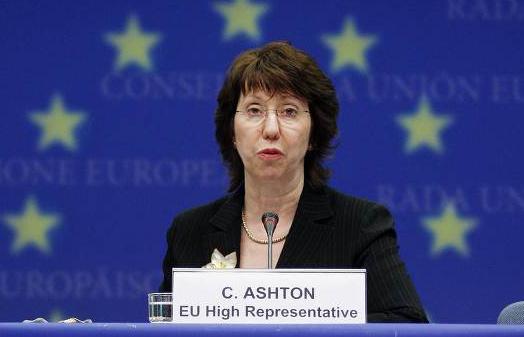 Catherine Ashton, haute représentante de l'Union européenne pour les affaires étrangères