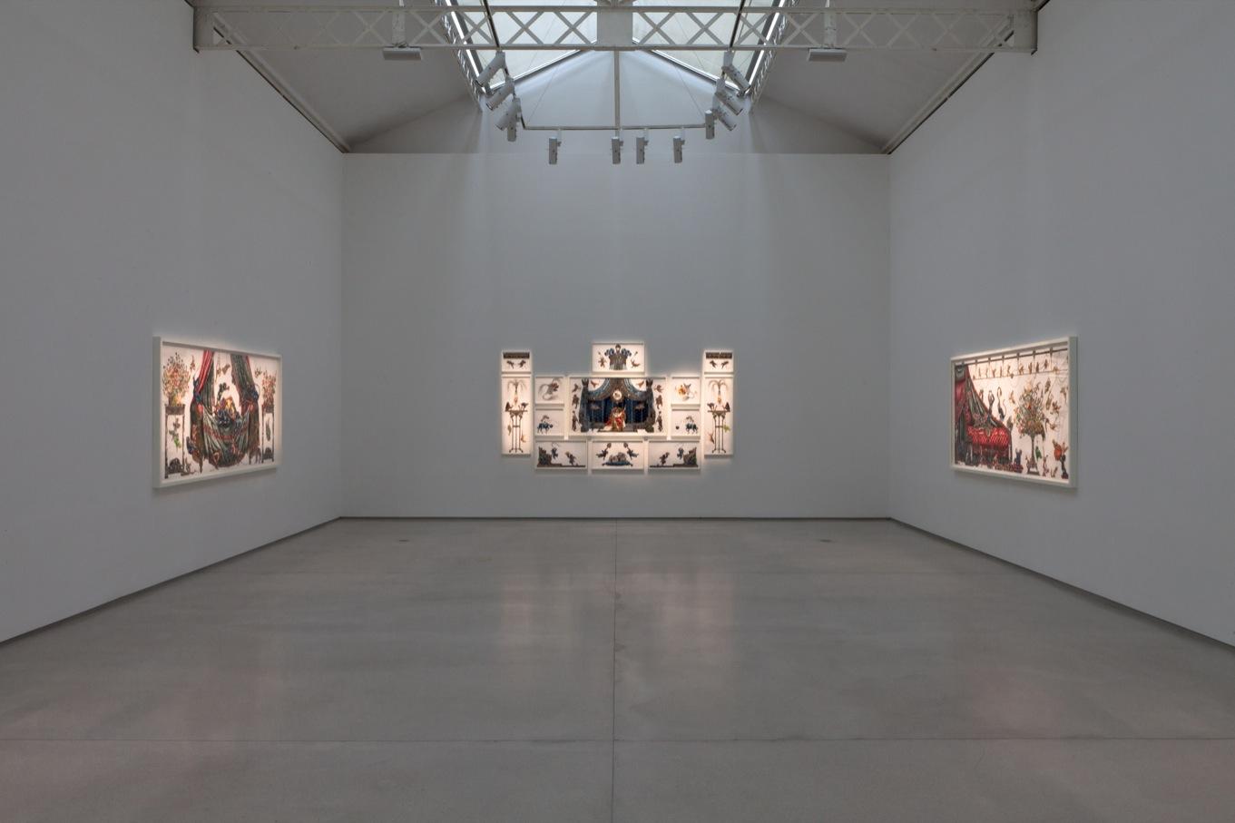 Exposition de Raqib Shaw à la galerie Thaddaeus Ropac