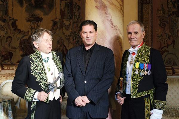 Roman Polanski, chevalier de l'Ordre des Arts et des Lettres