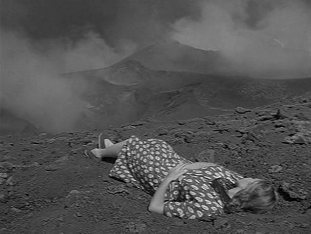 Scène du film Stromboli