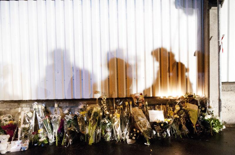 Hommage aux victimes devant l'établissement scolaire Ozar Hatorah