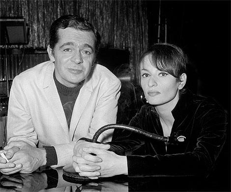Serge Reggiani et Barbara