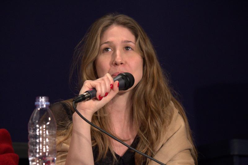 """Emmanuelle-Joseph Dailly lors du séminaire de la RDJ : """"Comment combattre les extrêmes-droites européennes?"""", le 18 mars 2012 ."""