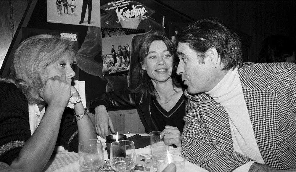 Sylvie Vartan, Françoise Hardy et Daniel Filipacchi